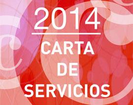 Carta de Servicios 2014