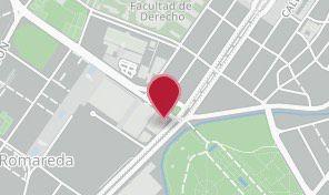 mapa de situación de la Cámara de Zaragoza