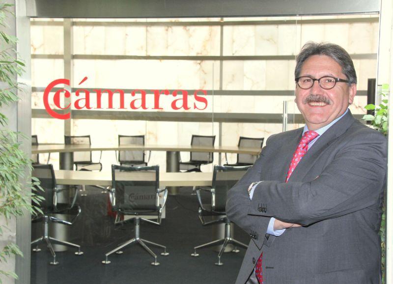 Manuel Teruel, presidente del Consejo Superior de Cámaras