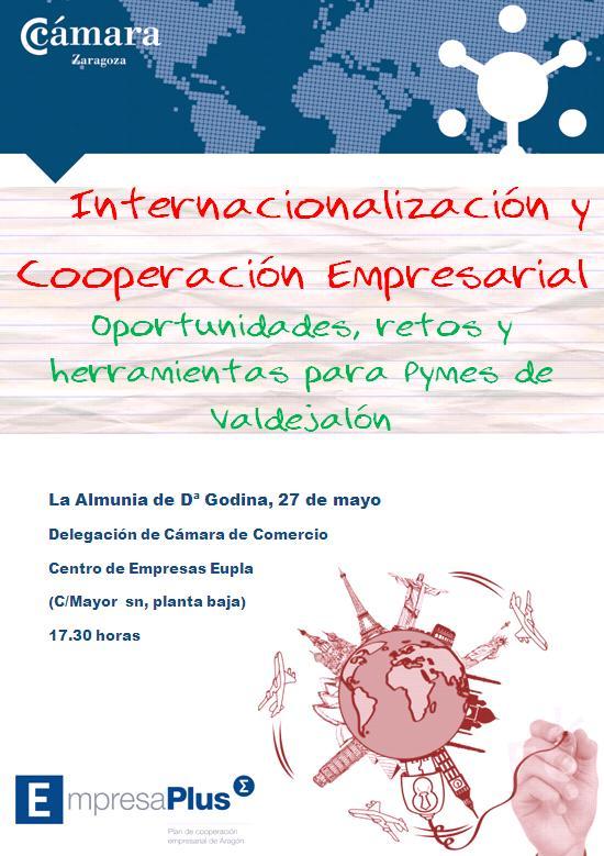 Jornada sobre cooperación empresarial e internacionalización en La Almunia