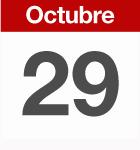 29 de octubre