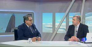 Entrevista a Manuel Teruel en el informativo de TVE Aragón