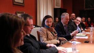 Encuentro del embajador británico con 20 empresas del Club Internacional
