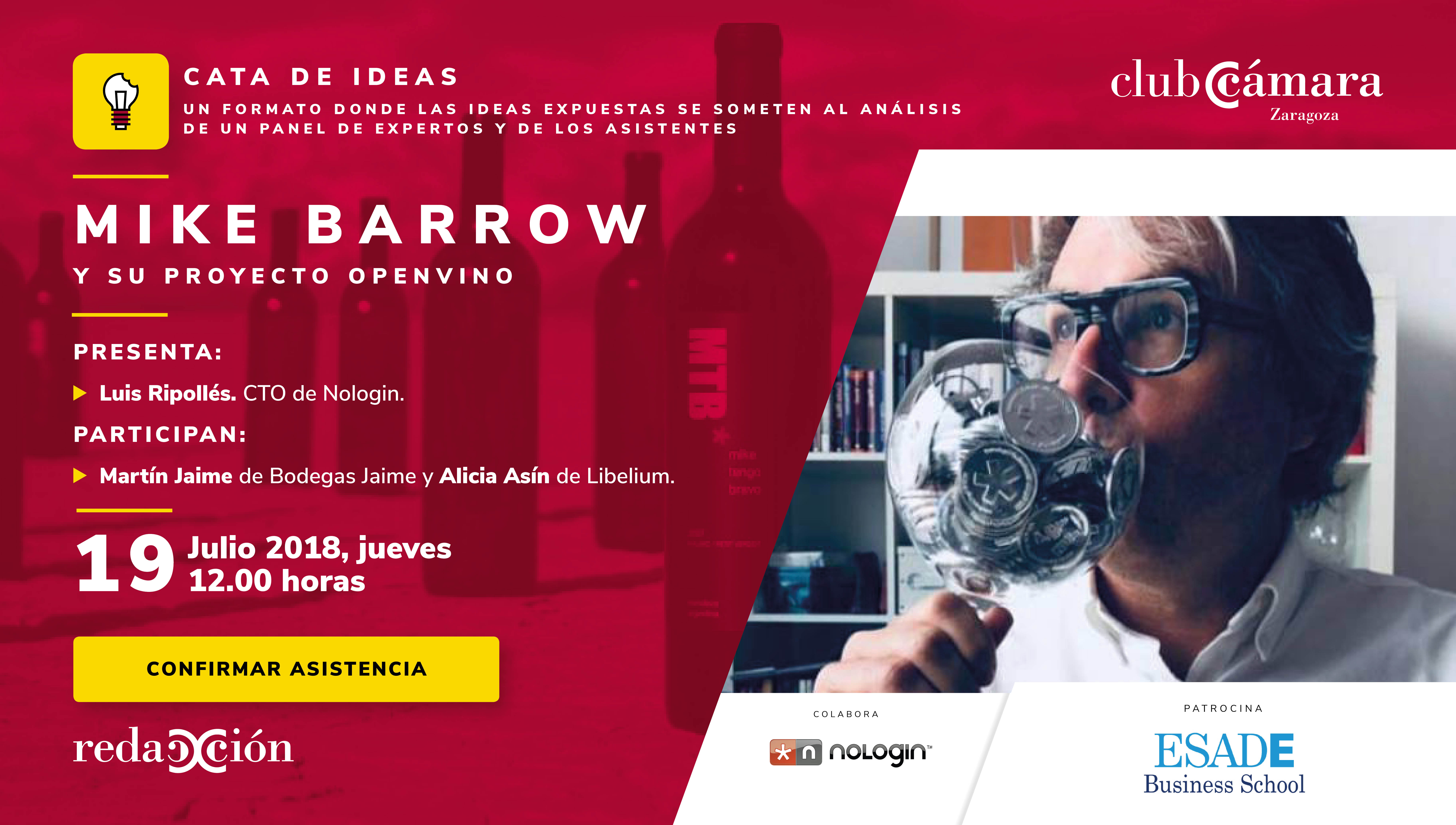 'Cata de ideas' con Mike Barrow, responsable del proyecto Openvino