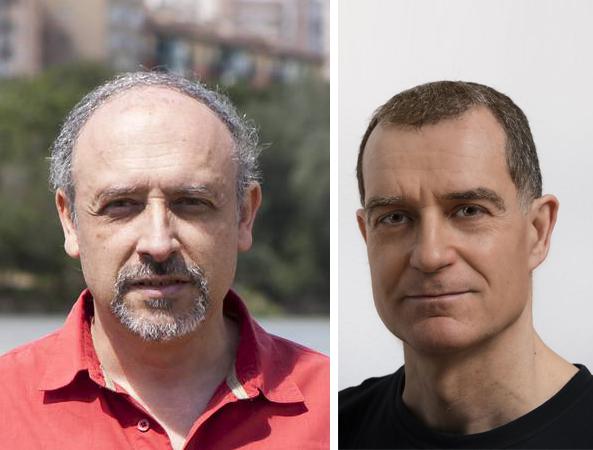 Alfredo Ollero y José Luis Briz