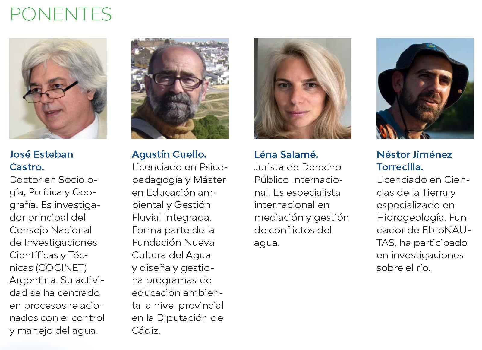 La relación entre agua y sociedad, a debate en el seminario internacional sobre ecosistemas fluviales