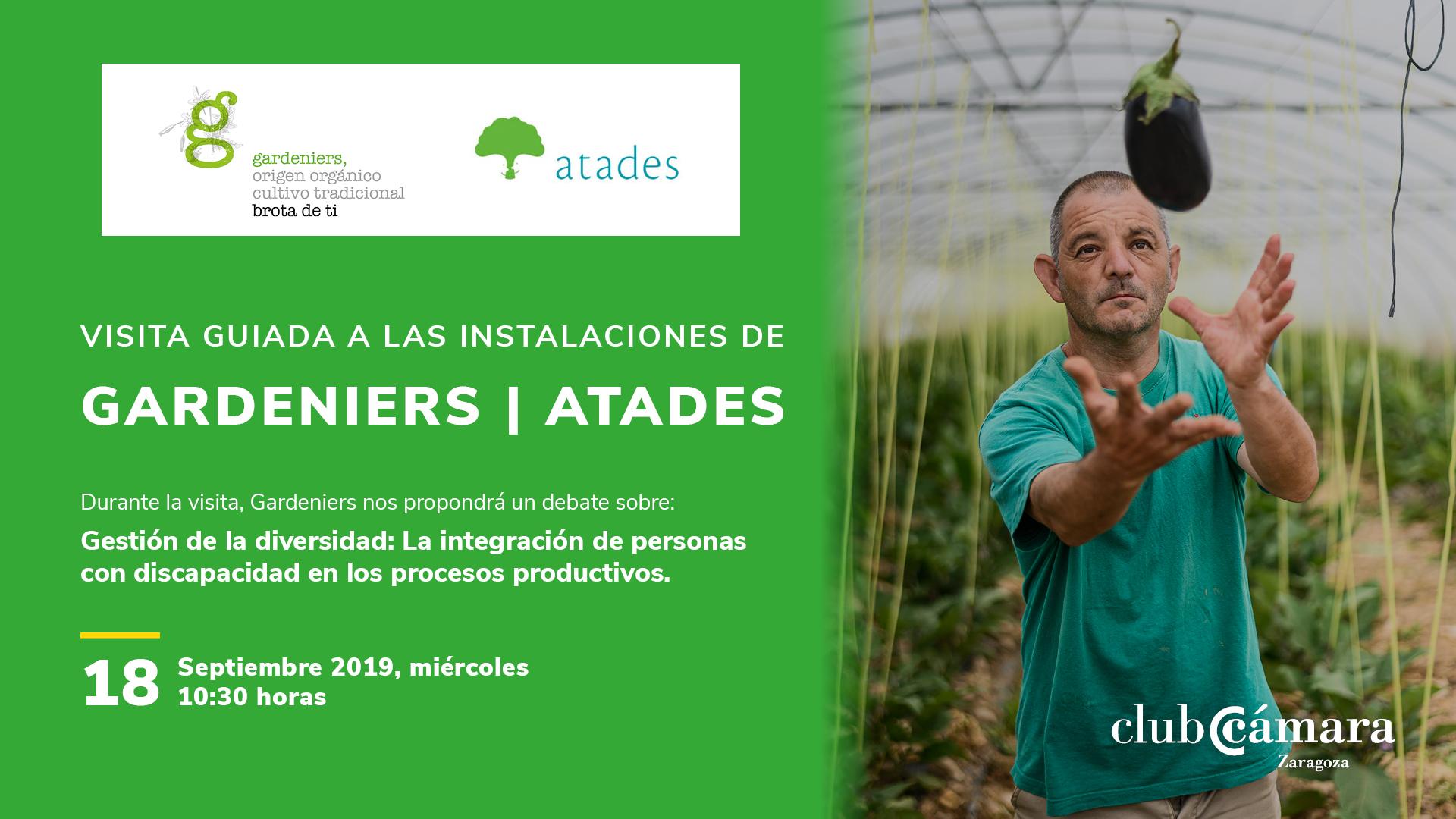 Visita Gardeniers   Atades