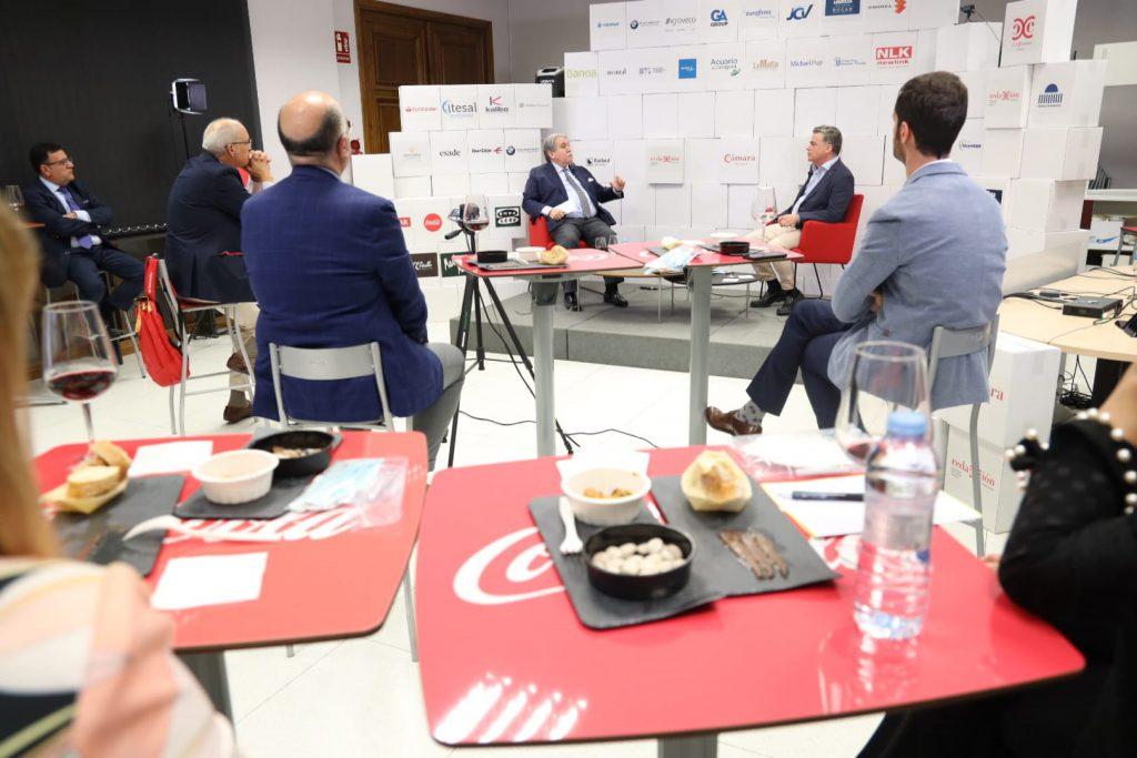 Un encuentro semipresencial de Manuel Teruel con empresas socias y patrocinadores inicia las actividades del Club Cámara