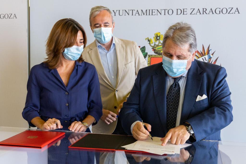 El Ayuntamiento y Cámara Zaragoza impulsarán la digitalización del comercio