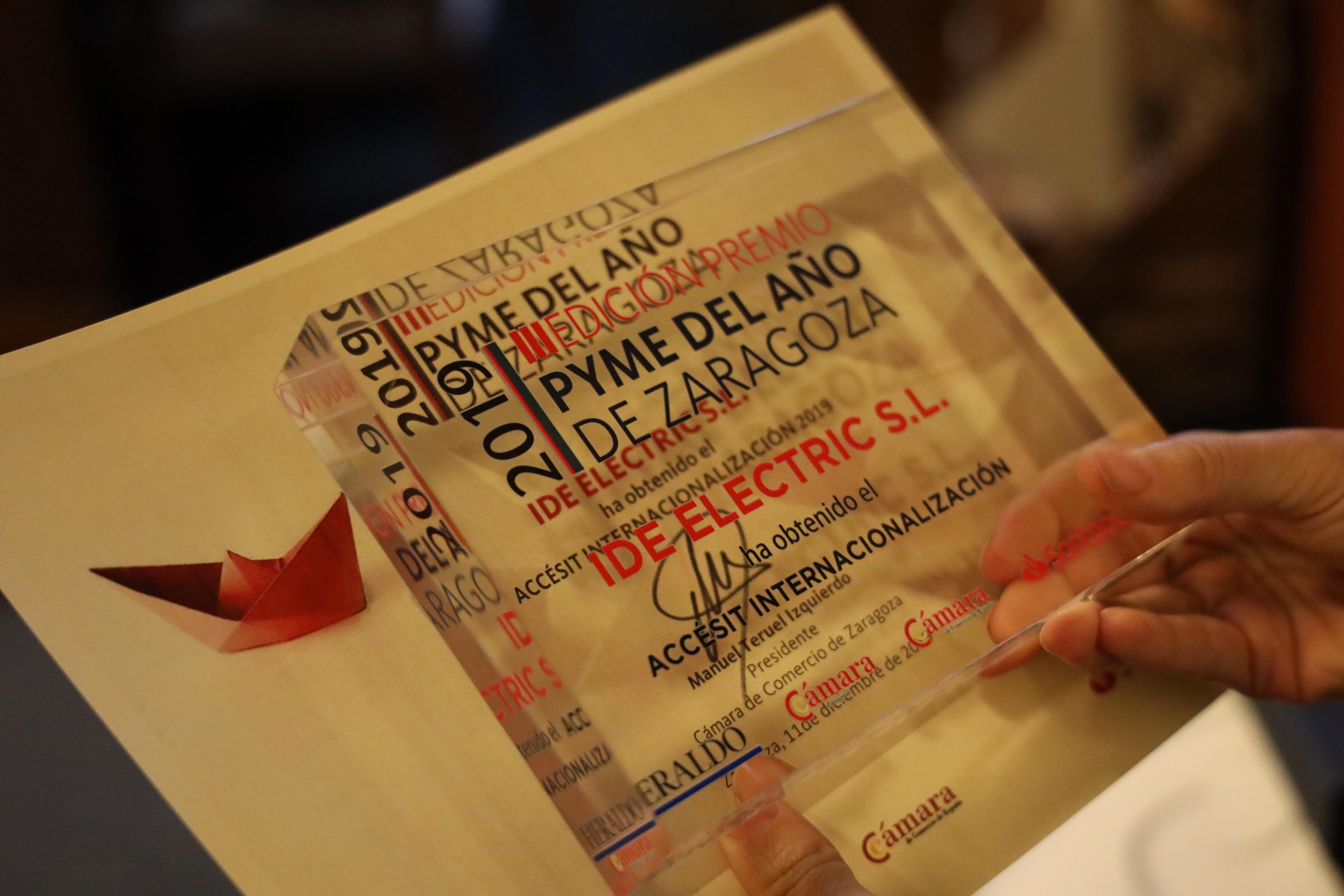 Agrar Semillas, Comercial Salgar, Copistería Lowcost, Foticos y Taisi, finalistas del Premio Pyme del Año 2020 en Zaragoza