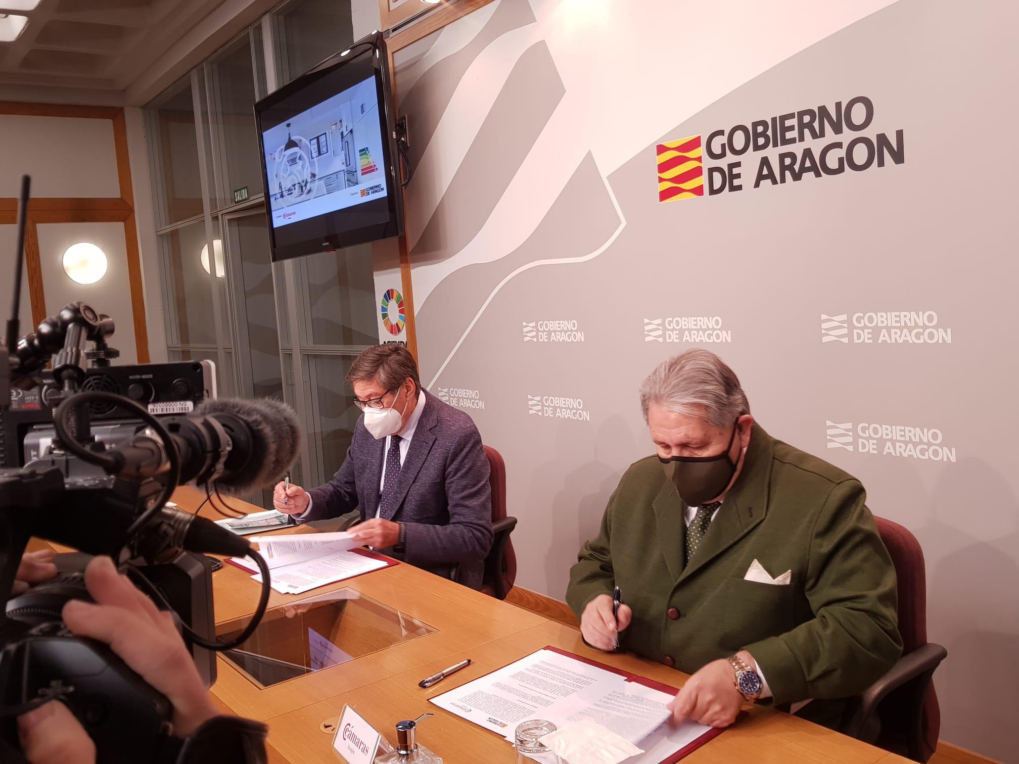 Las Cámaras ayudan al Gobierno de Aragón en la gestión de las ayudas del Plan Renove de electrodomésticos y calderas 2020