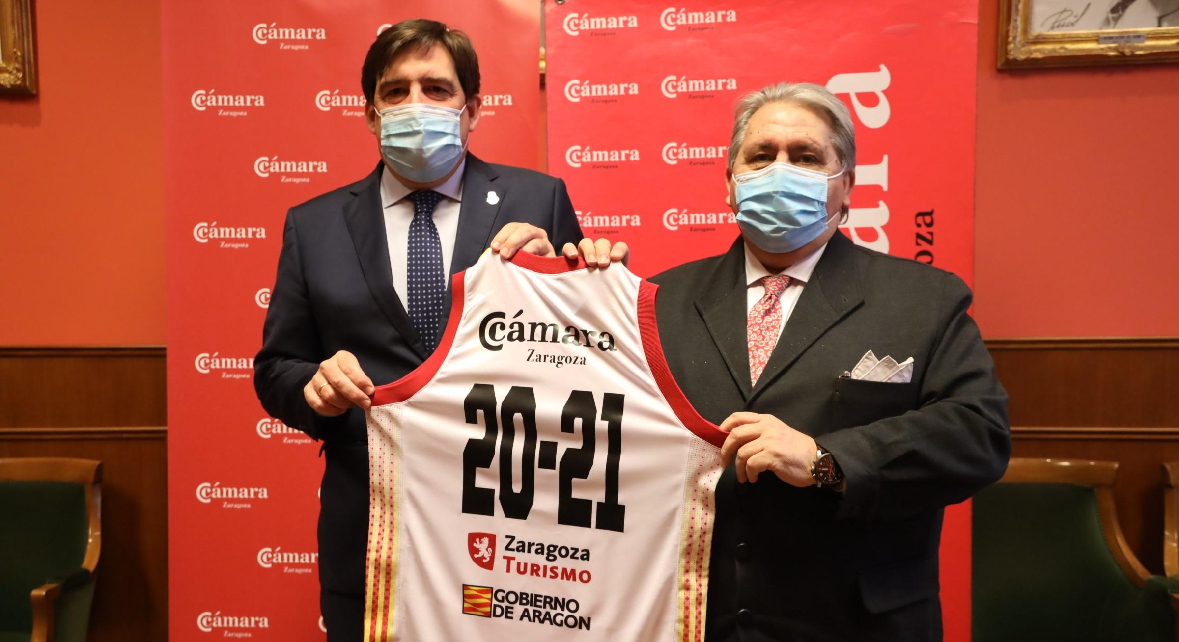 La Cámara y Casademont Zaragoza firman un convenio de colaboración