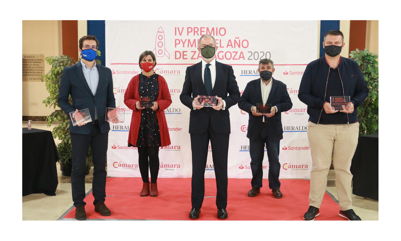 Banco Santander y Cámara Zaragoza lanzan la quinta edición del Premio Pyme del Año