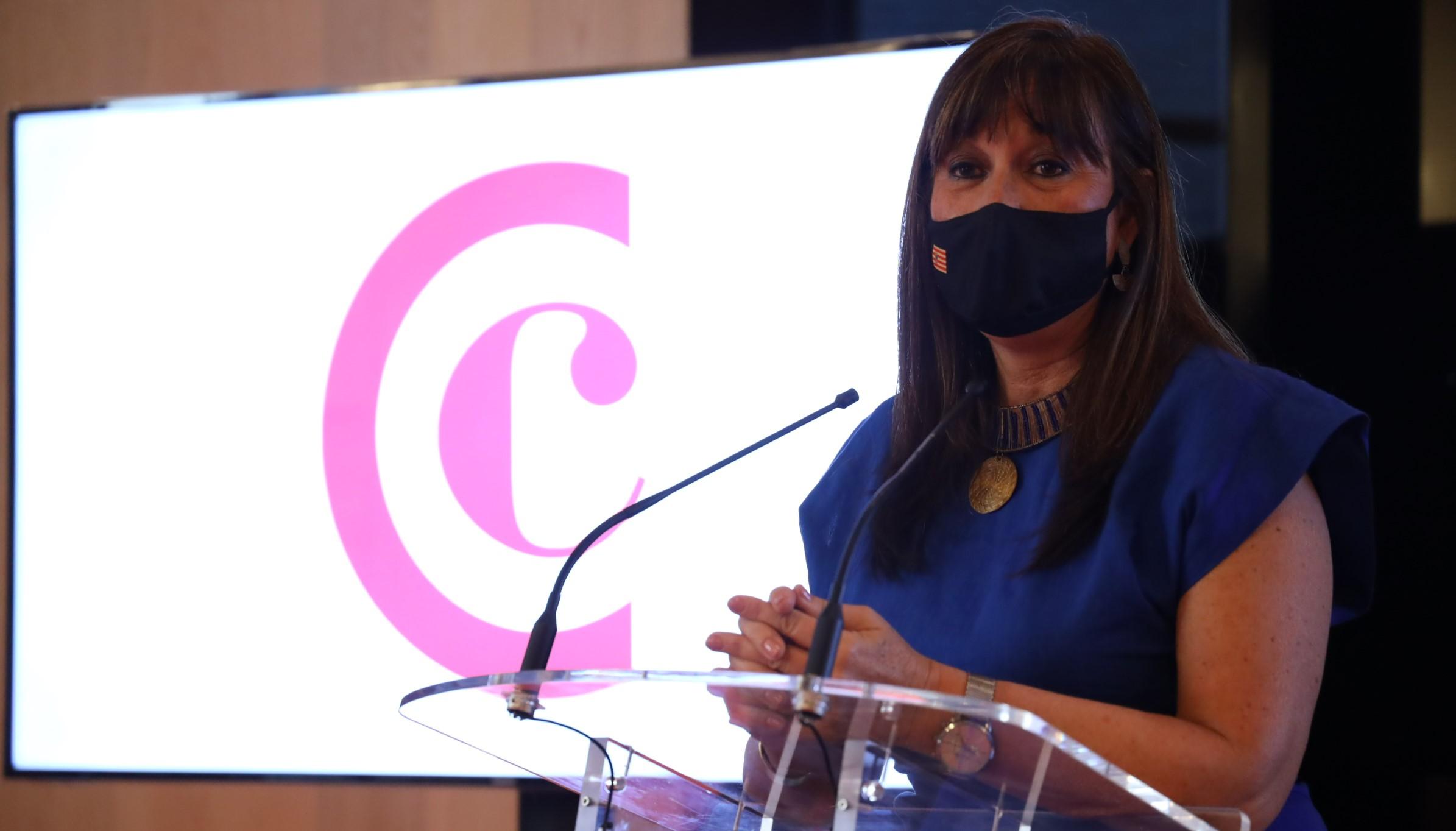 Sira Repollés mantiene un encuentro con empresarios del Club Líder